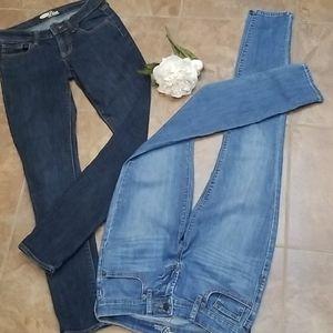 Old navy diva skinny jeans size 0